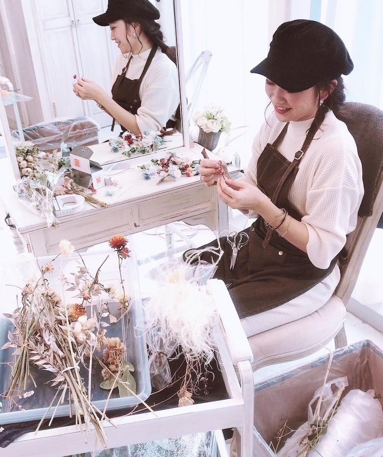 宮原幸恵のオーダーメイド髪飾り